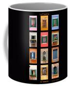 The Windows Of Venice Coffee Mug
