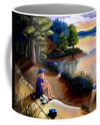 The Wish To Fish Coffee Mug