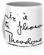 Theodore Dreiser (1871-1945) Coffee Mug