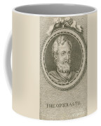 Theophrastus, Ancient Greek Polymath Coffee Mug