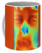 Thermogram Of A Boys Face Coffee Mug