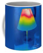 Thermogram Of A Lamp Coffee Mug