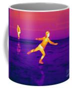 Thermogram Of A Skater Coffee Mug