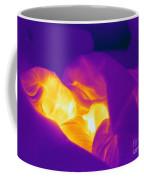 Thermogram Of A Sleeping Girl Coffee Mug
