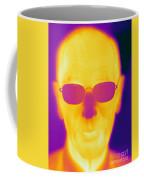 Thermogram Of An Elderly Man Coffee Mug