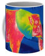 Thermogram Of An Elephant Coffee Mug