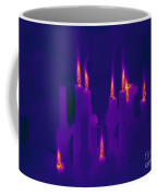 Thermogram Of Candles Coffee Mug