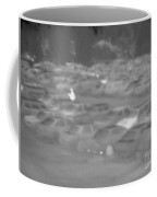 Thermogram Of Cars In A Parking Lot Coffee Mug