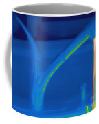 Thermogram Of Hot Water And A Faucet Coffee Mug