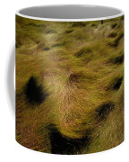 Thick Grasses Blow In The Wind And Form Coffee Mug