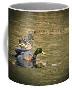 Thin Ice Wet Duck Coffee Mug