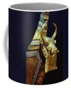 This Gilded Bull Originates Coffee Mug