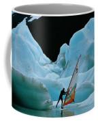This Windsurfer In Portage Lake Coffee Mug by Chris Johns