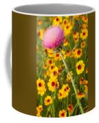 Thistle And Coreopsis 2am-110455 Coffee Mug