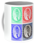 Thomas Jefferson In Negative Colors Coffee Mug