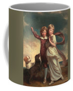 Thomas John Clavering And Catherine Mary Clavering Coffee Mug by George Romney