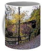 Thomas Mill Covered Bridge Over The Wissahickon Coffee Mug
