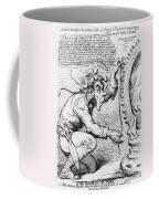 Thomas Paine Caricature Coffee Mug by Photo Researchers