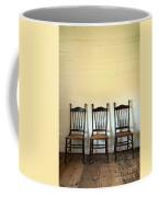 Three Antique Chairs Coffee Mug by Jill Battaglia