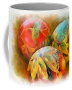 Three Balls - Watercolor Coffee Mug