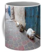 Three Cats In Essaouira Coffee Mug