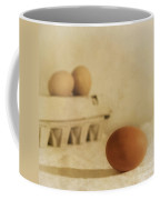 Three Eggs And A Egg Box Coffee Mug