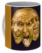 Three Faces Coffee Mug