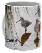 Three Long Billed Dowitchers Coffee Mug