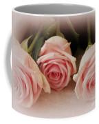 Three Pink Roses Coffee Mug