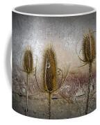 Three Prickly Teasels Coffee Mug
