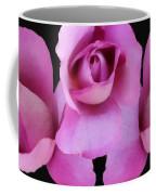 Three Roses Painterly Coffee Mug
