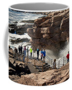 Thunder Hole Acadia Coffee Mug