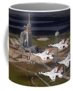 Thunderbirds Fly Past Endeavour Coffee Mug