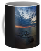 Thunderclouds On The Bay Coffee Mug