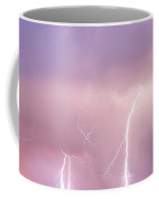 Thunderstorm On The Boulder County Plains Panorama Coffee Mug