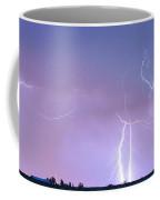 Thunderstorm On The Colorado Plains Panorama Coffee Mug