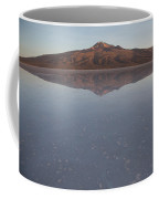 Thunupa Volcano Refelcted On The Salar Coffee Mug