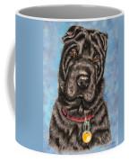 Tia Shar Pei Dog Painting Coffee Mug
