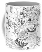Tick Tack Toe With The Universe Coffee Mug
