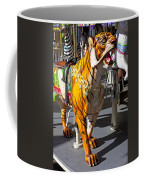 Tiger Carousel Ride Coffee Mug