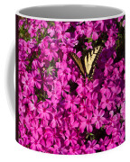 Tiger In The Phlox 5 Coffee Mug