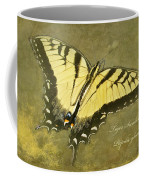 Tiger Swallowtail Butterfly - Papilio Glaucas Coffee Mug