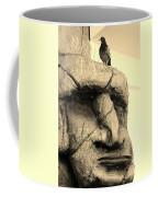 Tiki Dude With Bird Coffee Mug