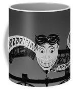 Tillie's Scream Zone In Black And White Coffee Mug