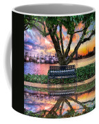 Time For Reflection Coffee Mug by Debra and Dave Vanderlaan