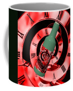 Time In A Bottle Red Coffee Mug