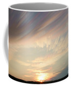 Time-lapse Clouds At Sunset Coffee Mug