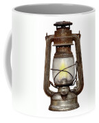 Time Worn Kerosene Lamp Coffee Mug