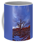 Timed Exposure Of Sunset Clouds Coffee Mug