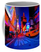 Times Square Nitelife Coffee Mug